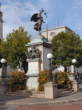 South African War Memorial, Cardiff - Image: The South African (Boer War) Memorial 2012