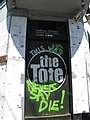 The Tote Hotel Entrance After Closure.JPG