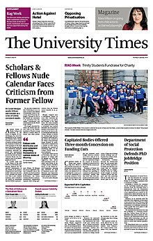 The University Times Front Page 2014-01-21.jpg