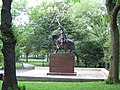 The Wladyslaw Jagiello monument in NYC 9.jpg