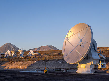 The final ALMA antenna. The final ALMA antenna.jpg
