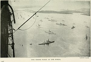 Grand Fleet - Image: The fleet from within. Being the impressions of a R. N. V. R. officer (1919) (14582307917)