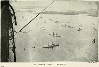 Grand Fleet - The Grand Fleet in the Firth of Forth