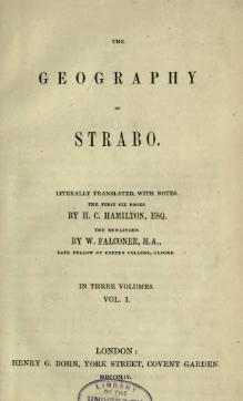 The geography of Strabo (1854) Volume 1.djvu