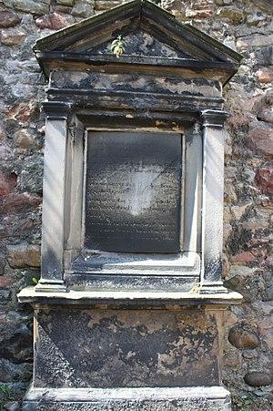 Patrick Grant, Lord Elchies - The grave of Lord Patrick Grant, Greyfriars Kirkyard