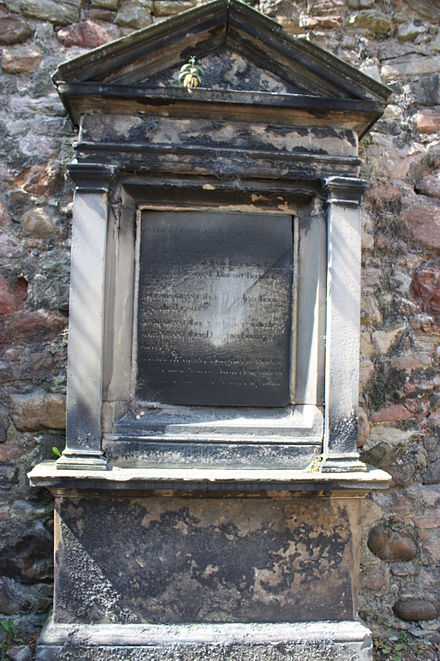 The grave of Lord Patrick Grant, Greyfriars Kirkyard – containing Lord Monboddo