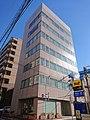 The headquarters of Buraku Liberation League, at Irifune, Chuo, Tokyo (2019-01-02) 02.jpg