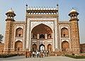 The main gateway (darwaza) to the Taj Mahal.jpg