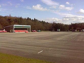 Catterick Garrison - The parade ground at Helles Barracks