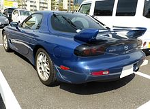 The rearview of Mazda RX-7 (FD3S).JPG