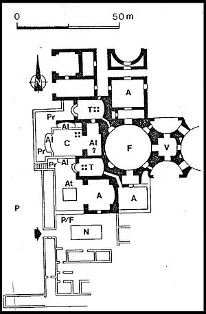Baths of Agrippa - Image: Thermes Agrippa