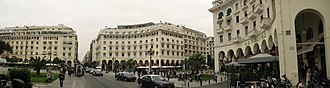 Aristotelous Square - Image: Thessaloniki (8'000x 2'000px) panoramio
