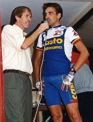 Castorama (cycling team) - Thomas Davy at the 1993 Tour de France