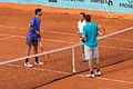 Thomaz Bellucci y Michael Berrer - Masters de Madrid 2015 - 01.jpg