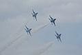 Thunderbirds Lockheed-Martin F-16C Fighting Falcons Diamond 3rd Pass 06 SNF 16April2010 (14443797779).jpg