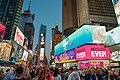 Times Square Pedestrian Walkway, May 2016.jpg