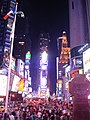 Times Square at night- Manhattan, New York City, United States of America (9867837036).jpg