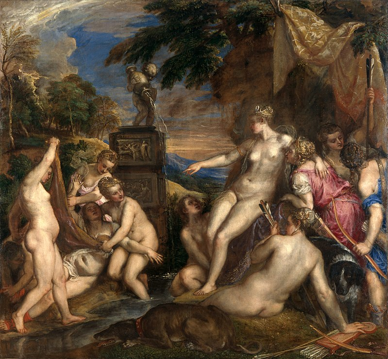 Titian Diana and Callisto