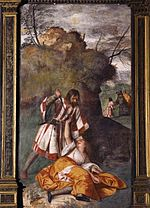 Tiziano, The Miracle of the Jealous Husband.jpg