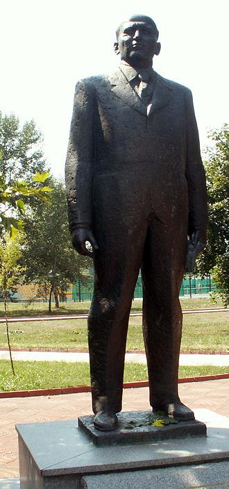 Todor Zhivkov - Todor Zhivkov memorial in Pravets