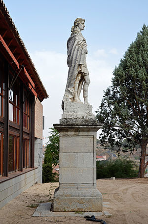 Sisebut - Statue of Sisebut in Toledo.