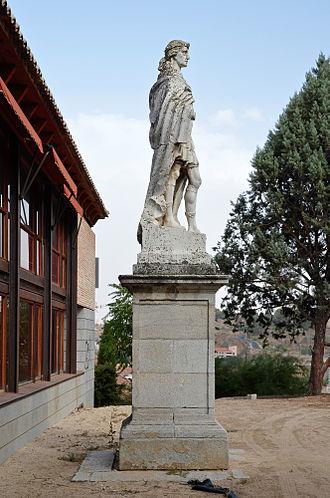 Sisebut - Statue of Sisebut in Toledo