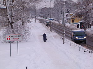 Tondi - Image: Tondi tänav (Tallinn)