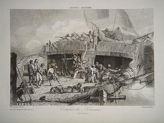 Aristide Aubert Du Petit Thouars - Tonnant at the Battle of the Nile, and death of Aristide Aubert Du Petit Thouars.
