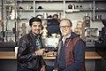 Tony conrad & mamoon hamid (15014321078).jpg