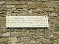 Torre della Zecca Vecchia, lapide dantesca.JPG