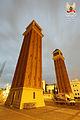 Torres d'accés al recinte de l'Exposició de 1929 (de Ramon Reventós i Farrerons) (1927-29) (03).jpg