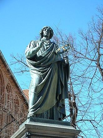 Christian Friedrich Tieck - Image: Torun 03Monument To Copernicus
