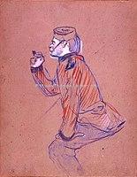 Toulouse-Lautrec - SOLDAT ANGLAIS FUMANT LA PIPE, 1898, MTL.198.jpg