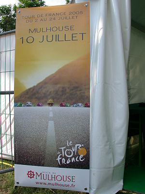 2005 Tour de France - Commercial poster for the 2005 Tour