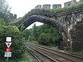 Town walls cross the railway line - geograph.org.uk - 1772121.jpg