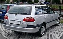 toyota avensis 2000 interior