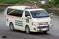 Toyota HiAce H200 ambulance, Bangladesh (29135615655).jpg