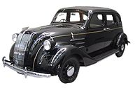 Replica of the Toyota Model AA, the first production model of Toyota in 1936