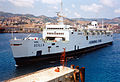 Train Ferry Scilla docking in the Harbour of Messina - Sicily - Italy - 18 June 1999.jpg