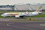 Transavia (Sunweb Livery), PH-HZX, Boeing 737-8K2 (28444036296).jpg