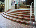 Trefaldighetskyrkan Arvika altar stair.jpg