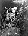 Trench, First World War Fortepan 52213.jpg