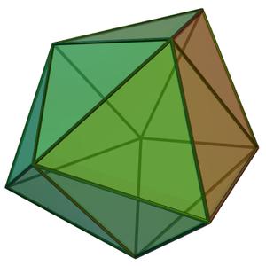 Triaugmented triangular prism - Image: Triaugmented triangular prism
