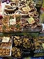 Tricholoma ustale&Pholiota nameko (T.Ito) S.Ito & Imai カキシメジ&ナメコ(金沢市近江町市場) PA091138.jpg