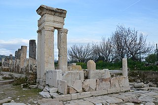 Tripolis on the Meander Ancient Greek city in Turkey