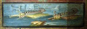 Triremes, A Detail From A Panel Of The Temple Of Isis, Pompeii.jpg