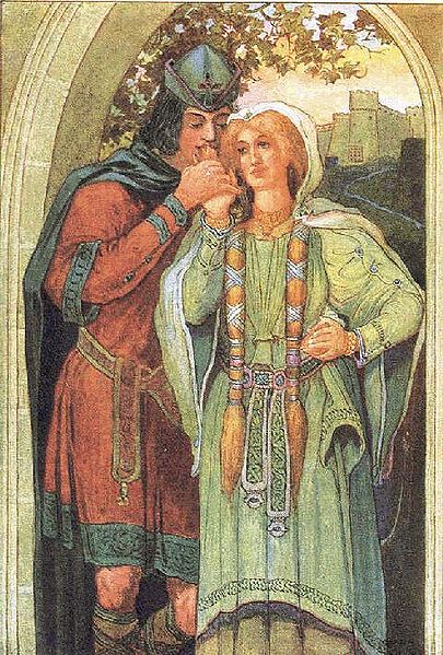 Archivo:Tristan and Isolde by Louis Rhead.jpg