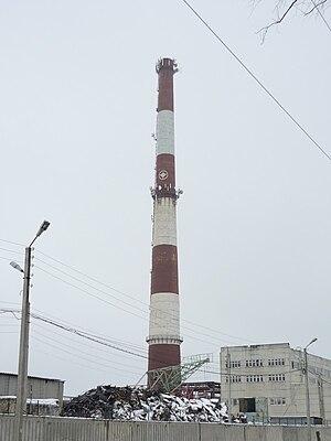 Pavlovo Bus Factory - Image: Truba zavoda paz