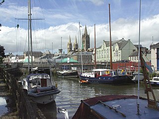Kenwyn suburb of the city of Truro and civil parish in Cornwall, England