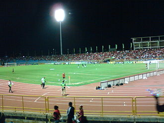 Hasely Crawford Stadium - Trinidad and Tobago vs Cuba Qualifying Match for the 2010 World Cup